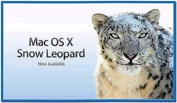 Screensaver Mac OS X Snow Leopard