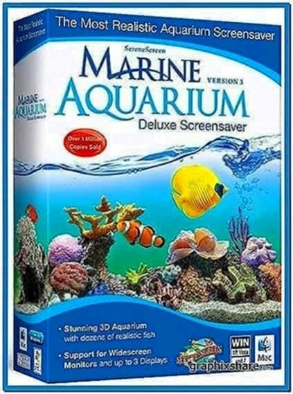 Screensaver Marine Aquarium Deluxe 3.2