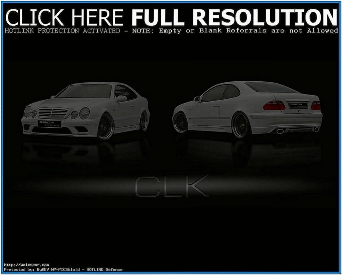 Screensaver Mercedes Clk