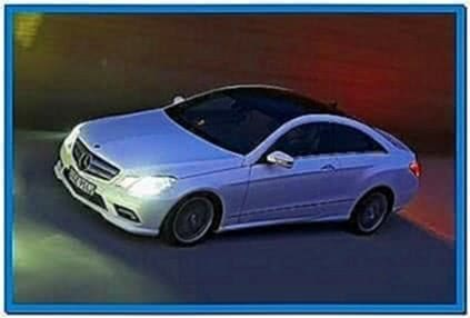 Screensaver Mercedes E Coupe