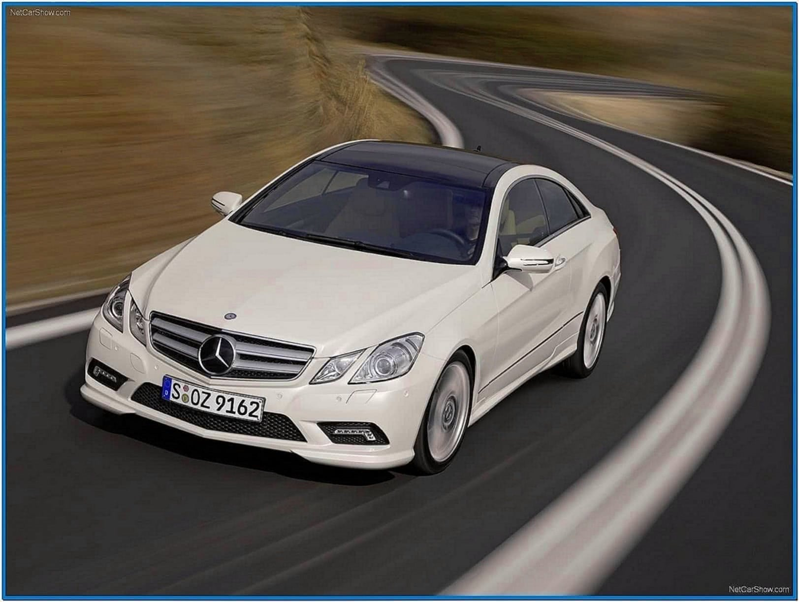Screensaver Mercedes E Coupe