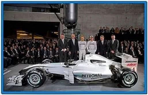Screensaver Mercedes Gp