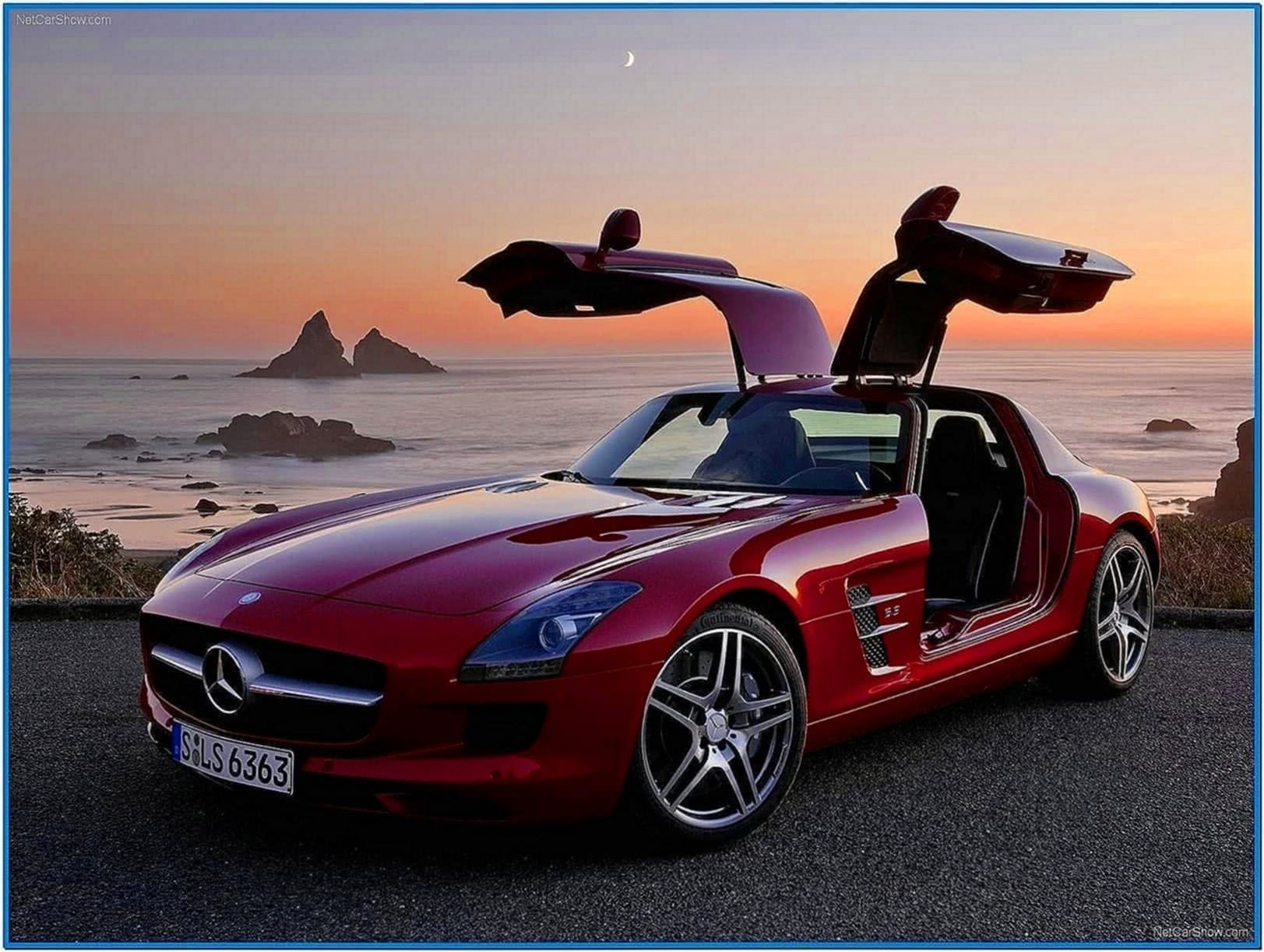 Screensaver Mercedes Sls