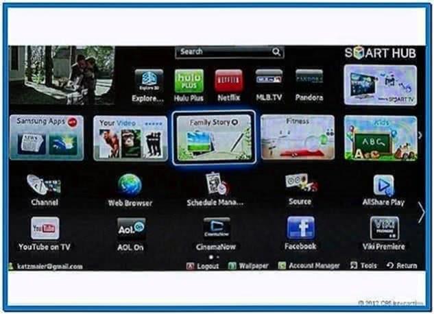 Screensaver My Samsung Smart TV