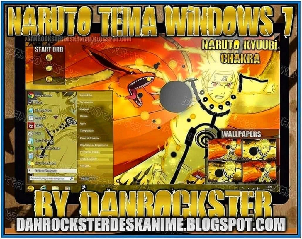 Screensaver Naruto Windows 7