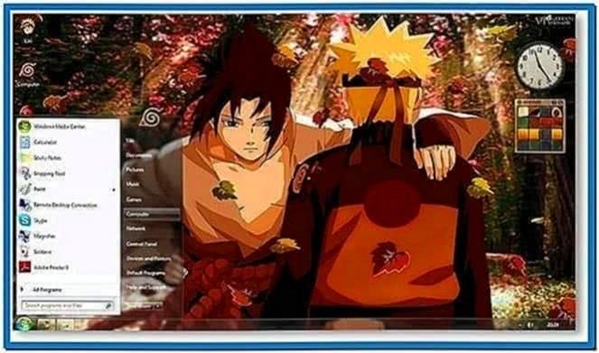 Screensaver Naruto Windows 7