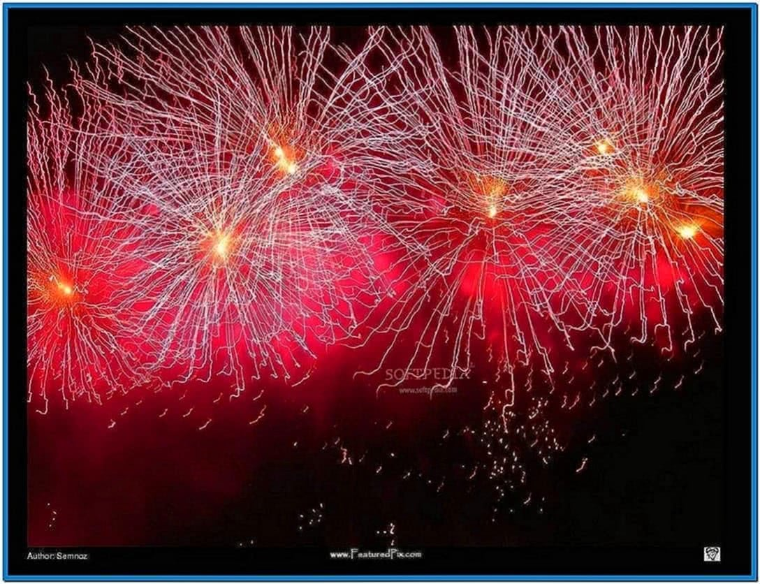 screensaver new year   download for free