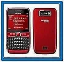 Screensaver Nokia E63