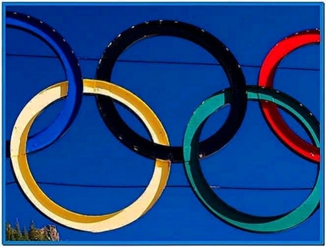Screensaver Olympic Games 2020