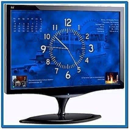 Screensaver Ort Clock