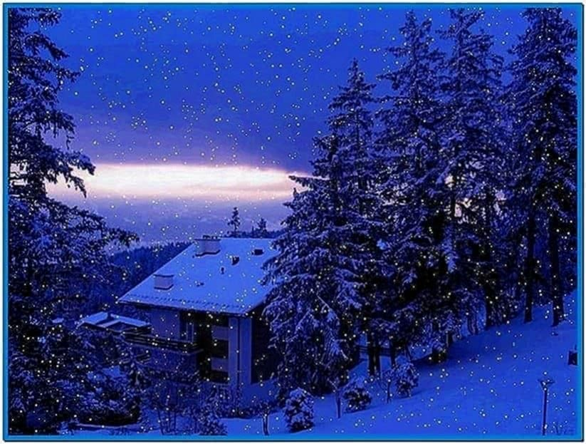 Screensaver snow fall download free - Free screensavers snowflakes falling ...