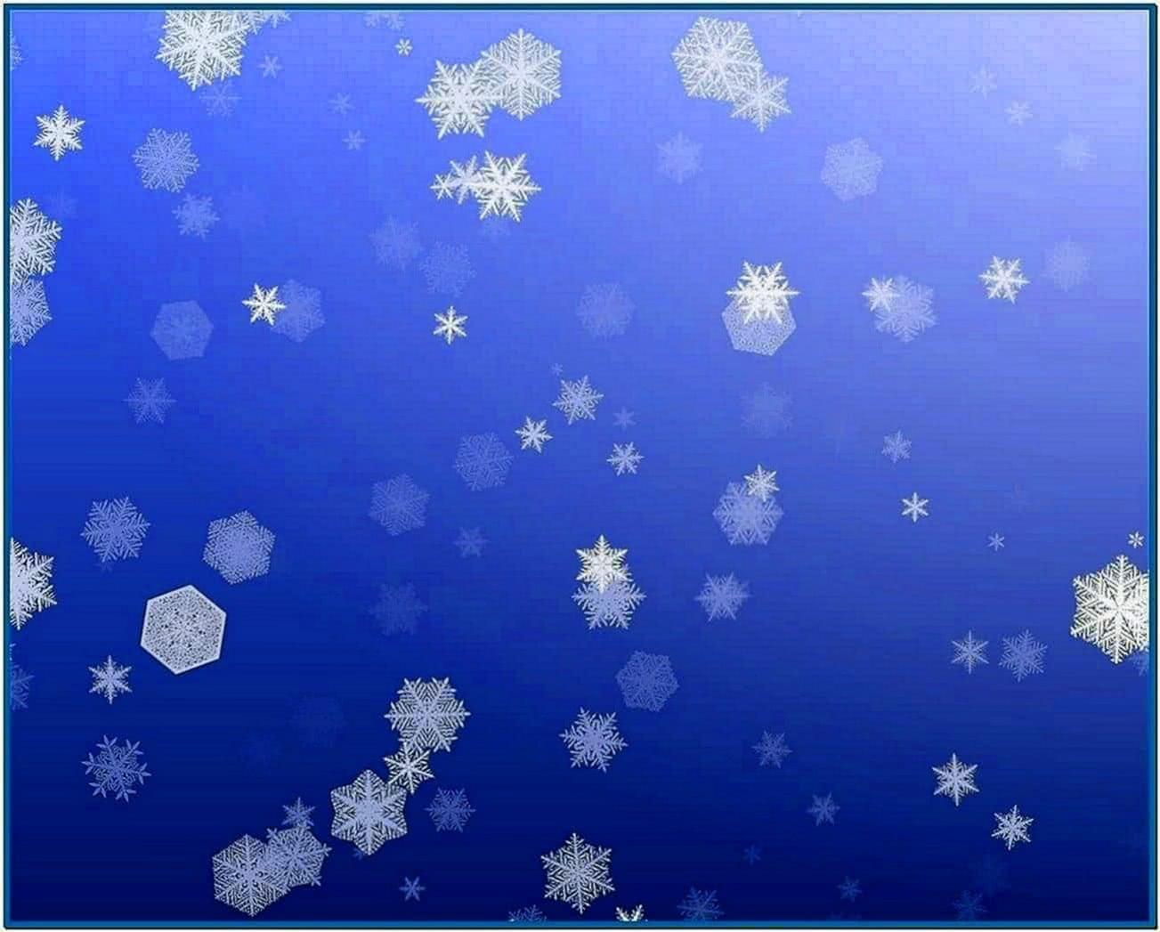 Screensaver Snow Fall