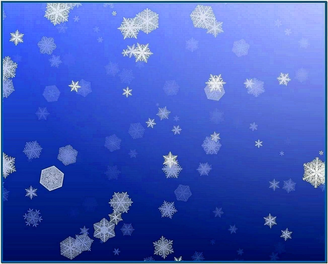 Screensaver Snow Falling