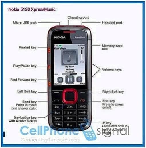 Screensaver Software for Nokia 5130