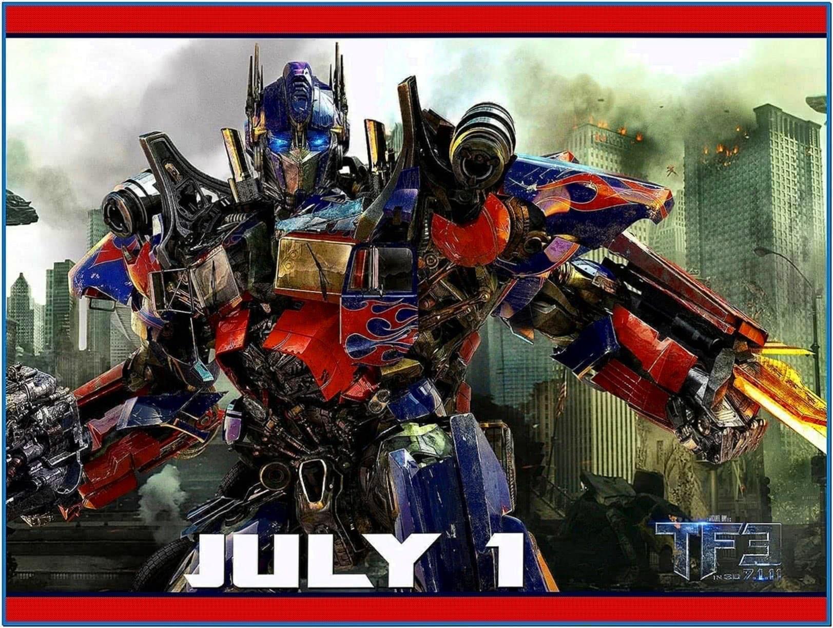 Screensaver Transformers Dark of The Moon