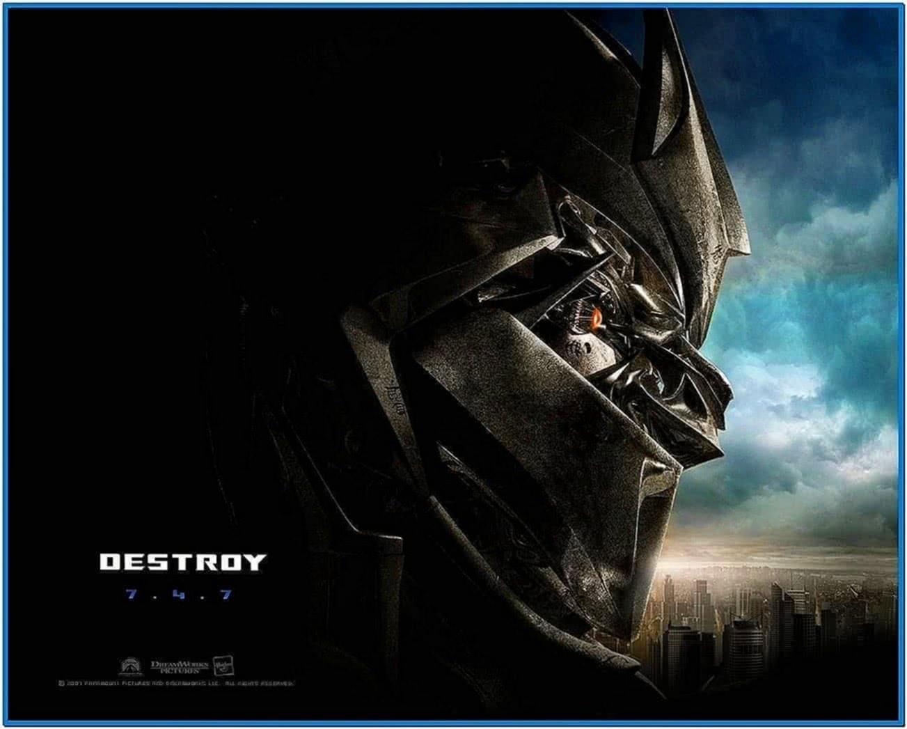Screensaver Transformers Movie