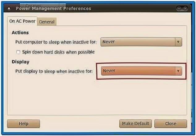Screensaver ubuntu 10.04
