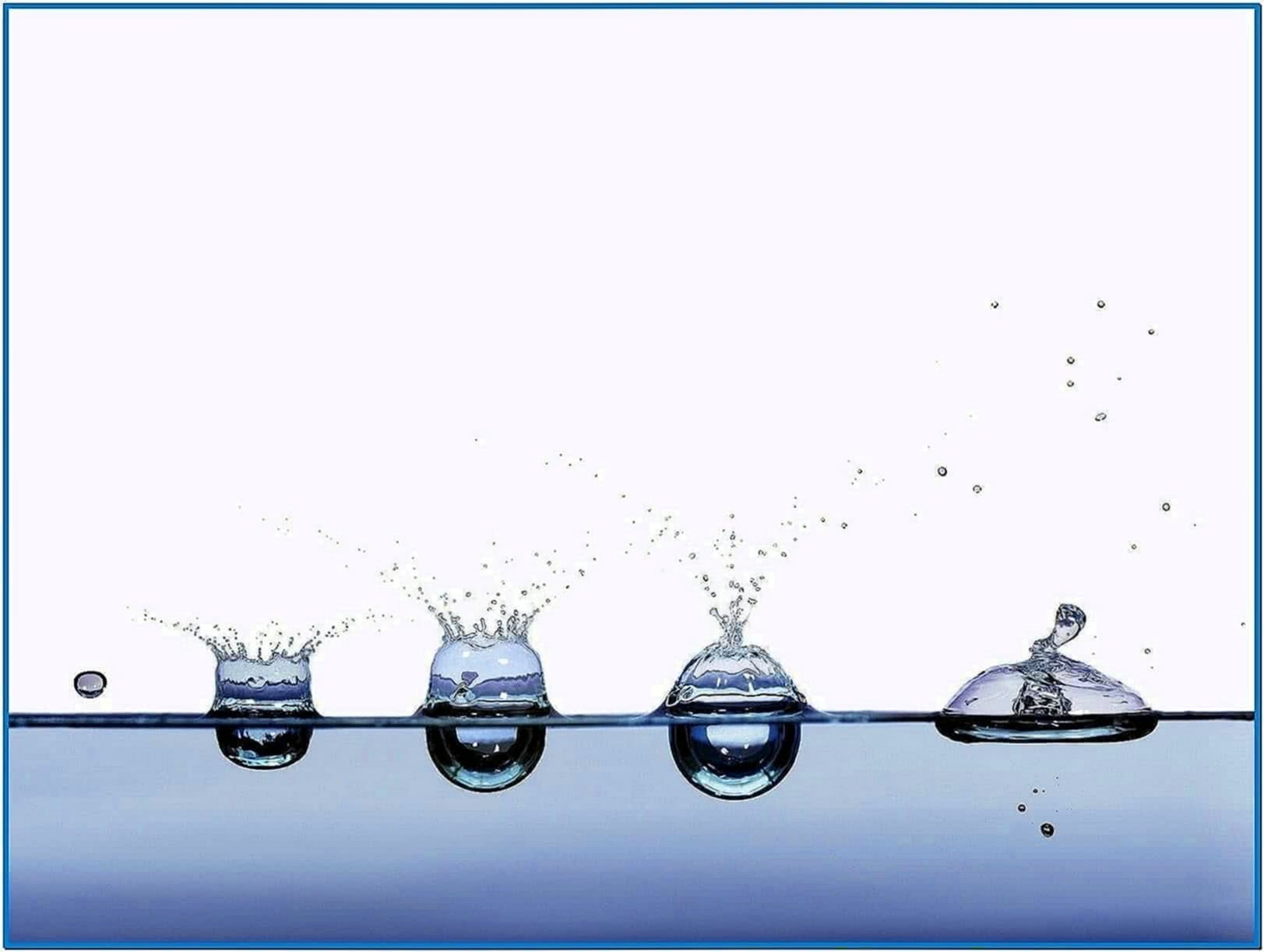 Screensaver Water Motion