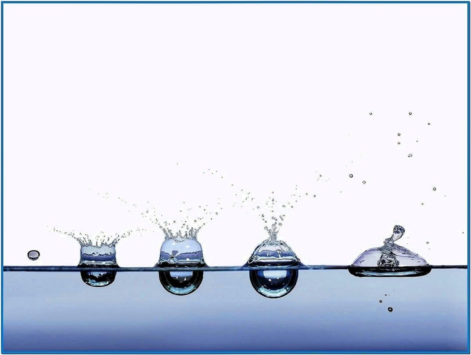 Screensaver Water Motion