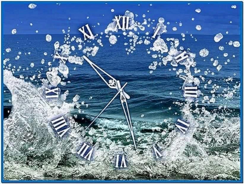 Screensaver Water Watch