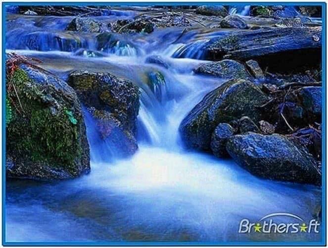 Screensaver Waterfall Mac