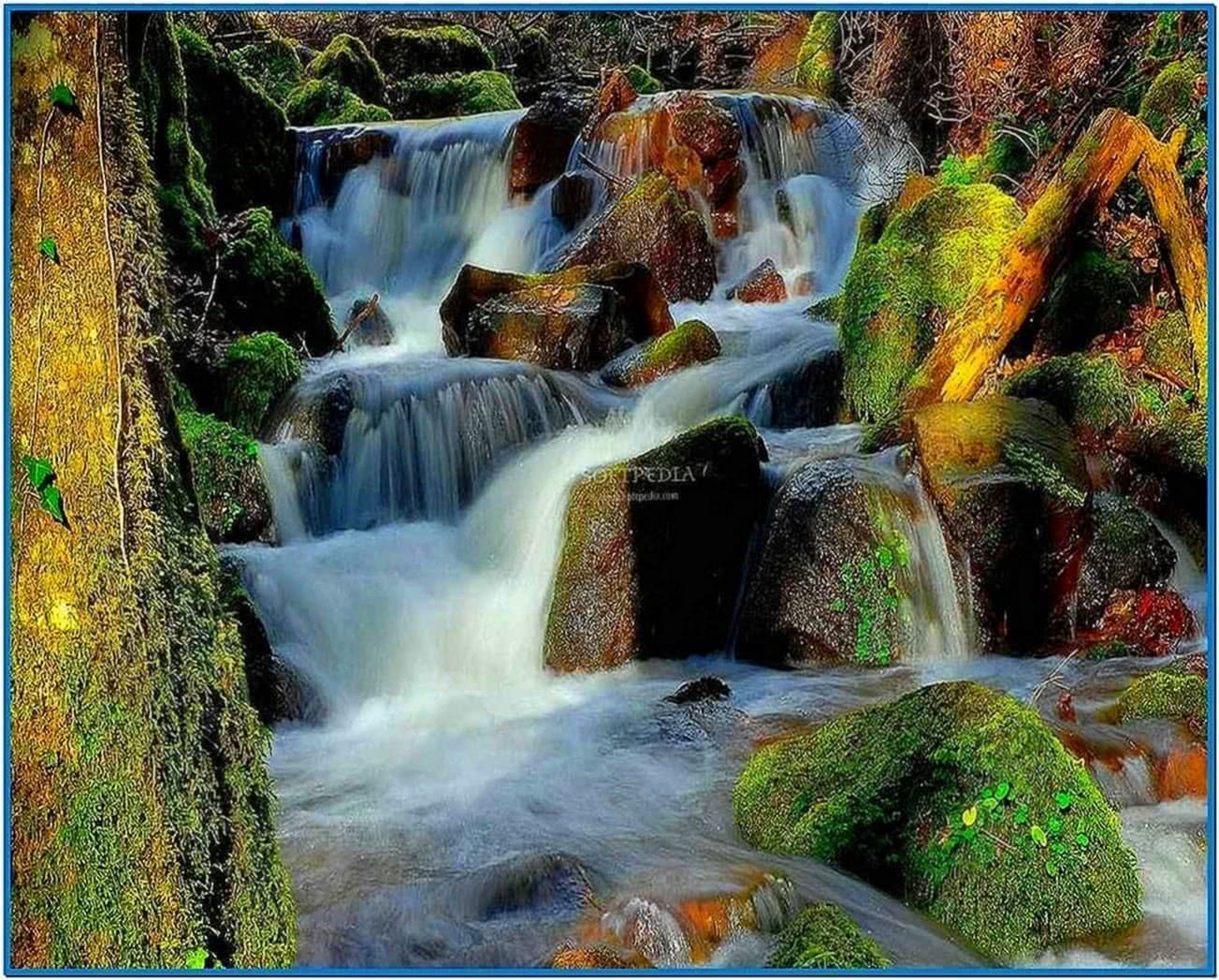 Screensaver Waterfall Pictures