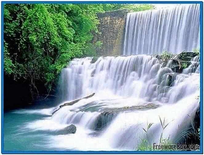 Screensaver Waterfall Sound