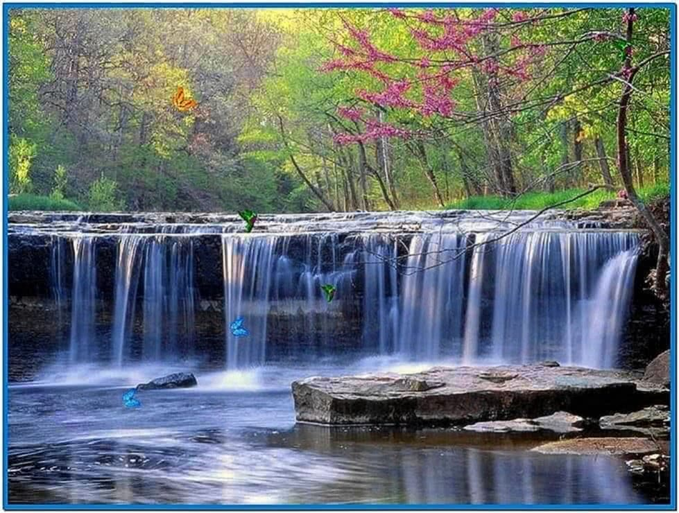 Screensaver Waterfall Windows 7