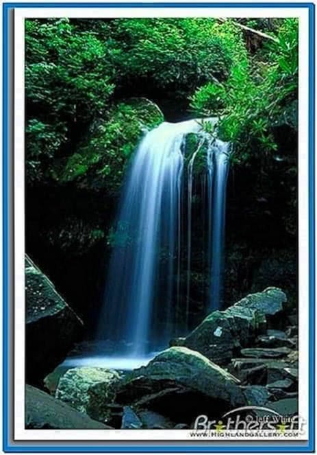 Screensaver Waterfall With Sound