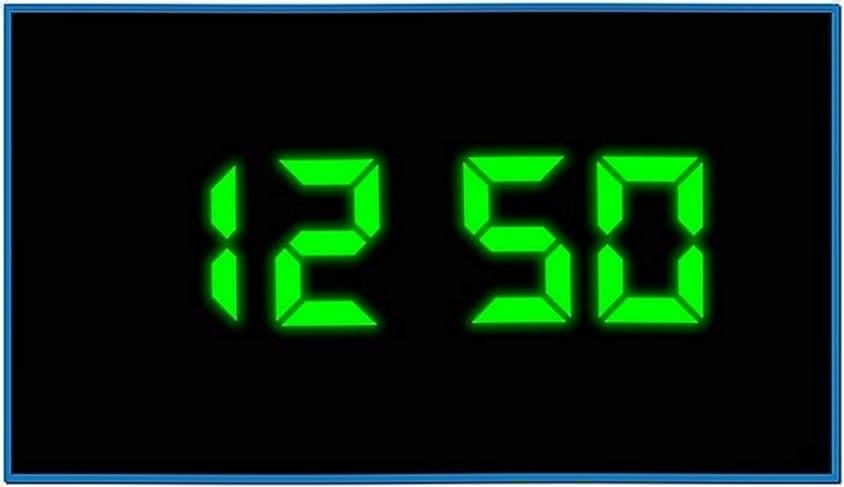 Screensaver Windows 7 Clock