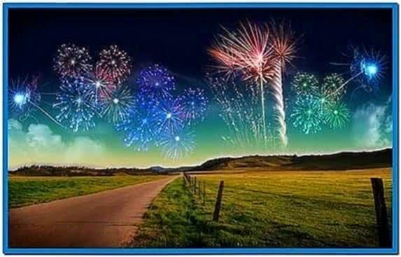 Screensaver Windows 7 New Year