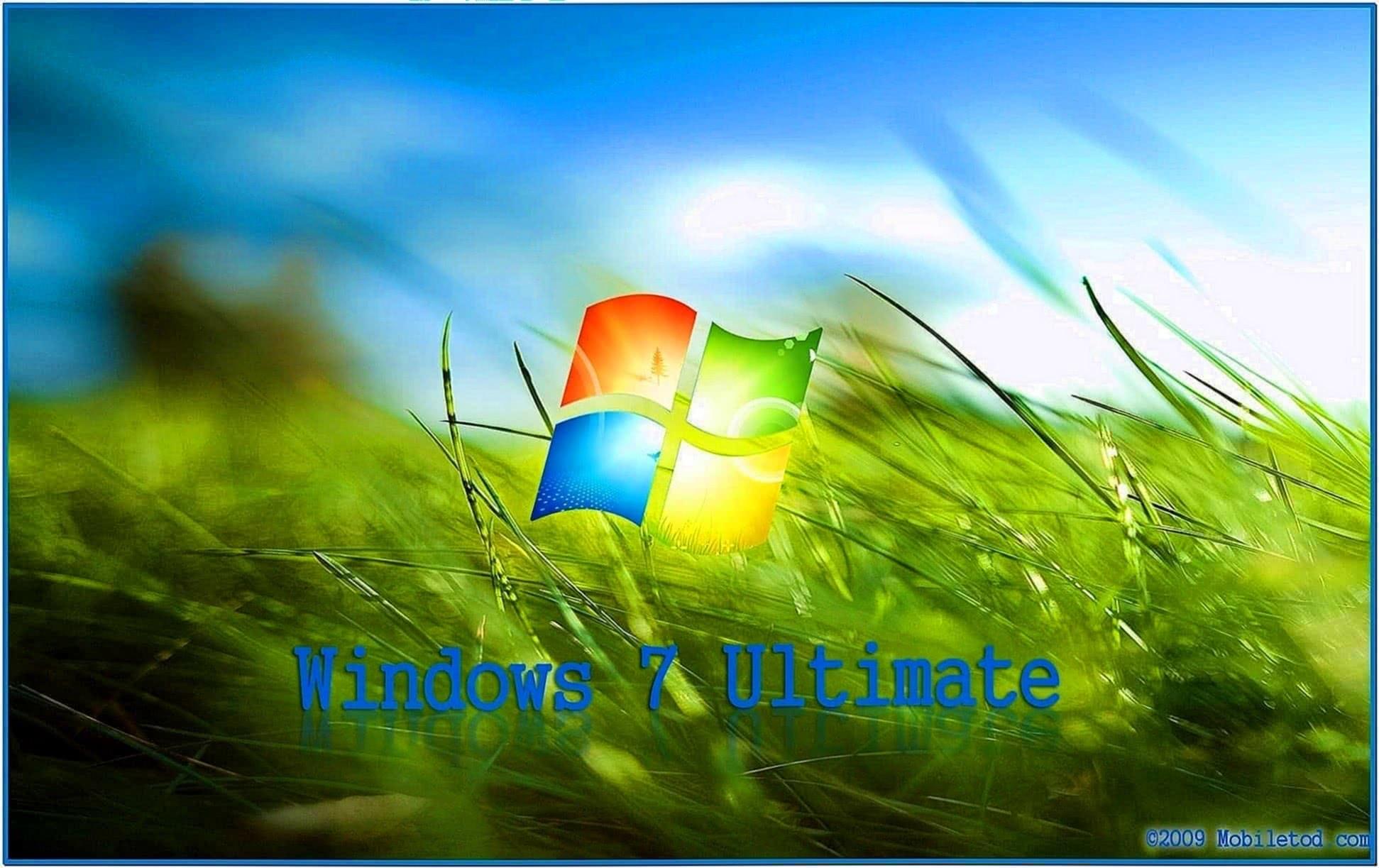 Screensaver Windows 7 ultimate
