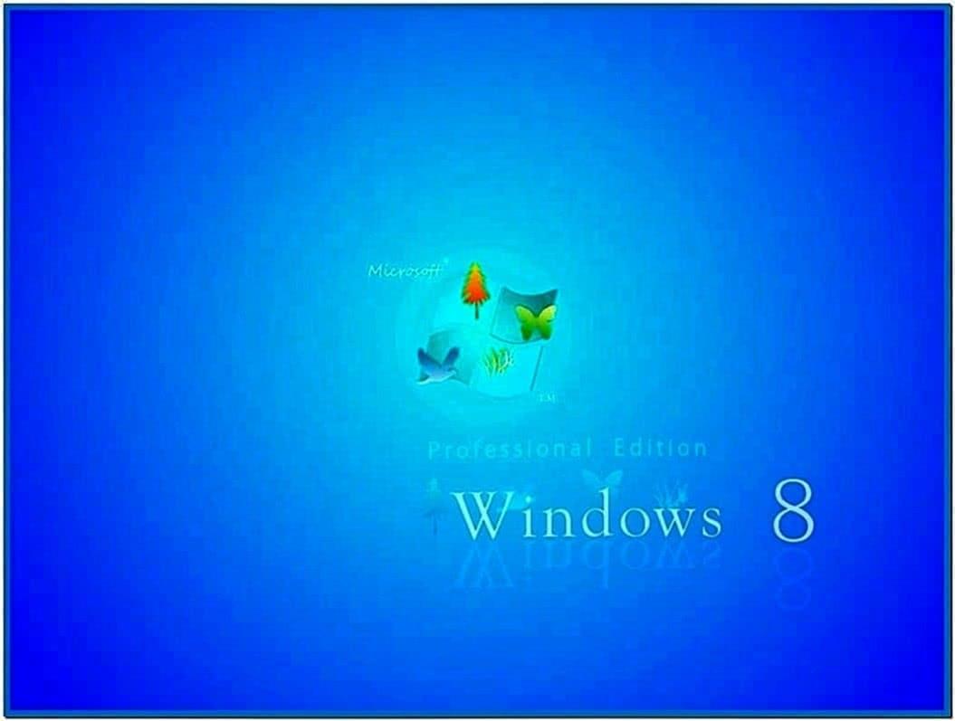 Screensaver windows 8