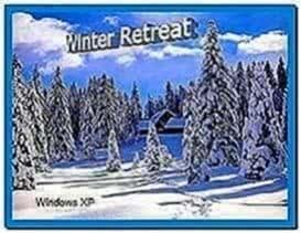 Screensaver winter retreat