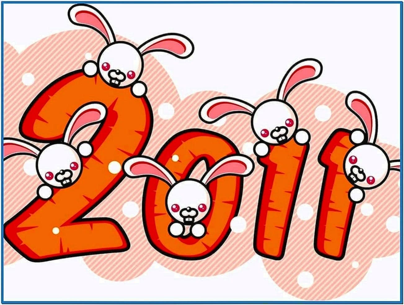 Screensaver Year of The Rabbit