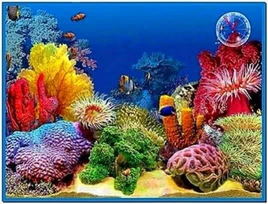 Screensavers 3d aquarium - Download free