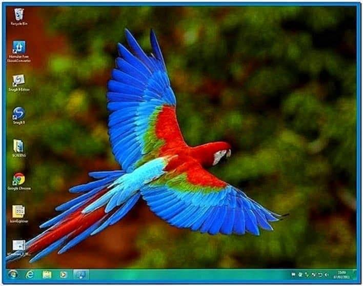 Screensavers and themes Windows 7