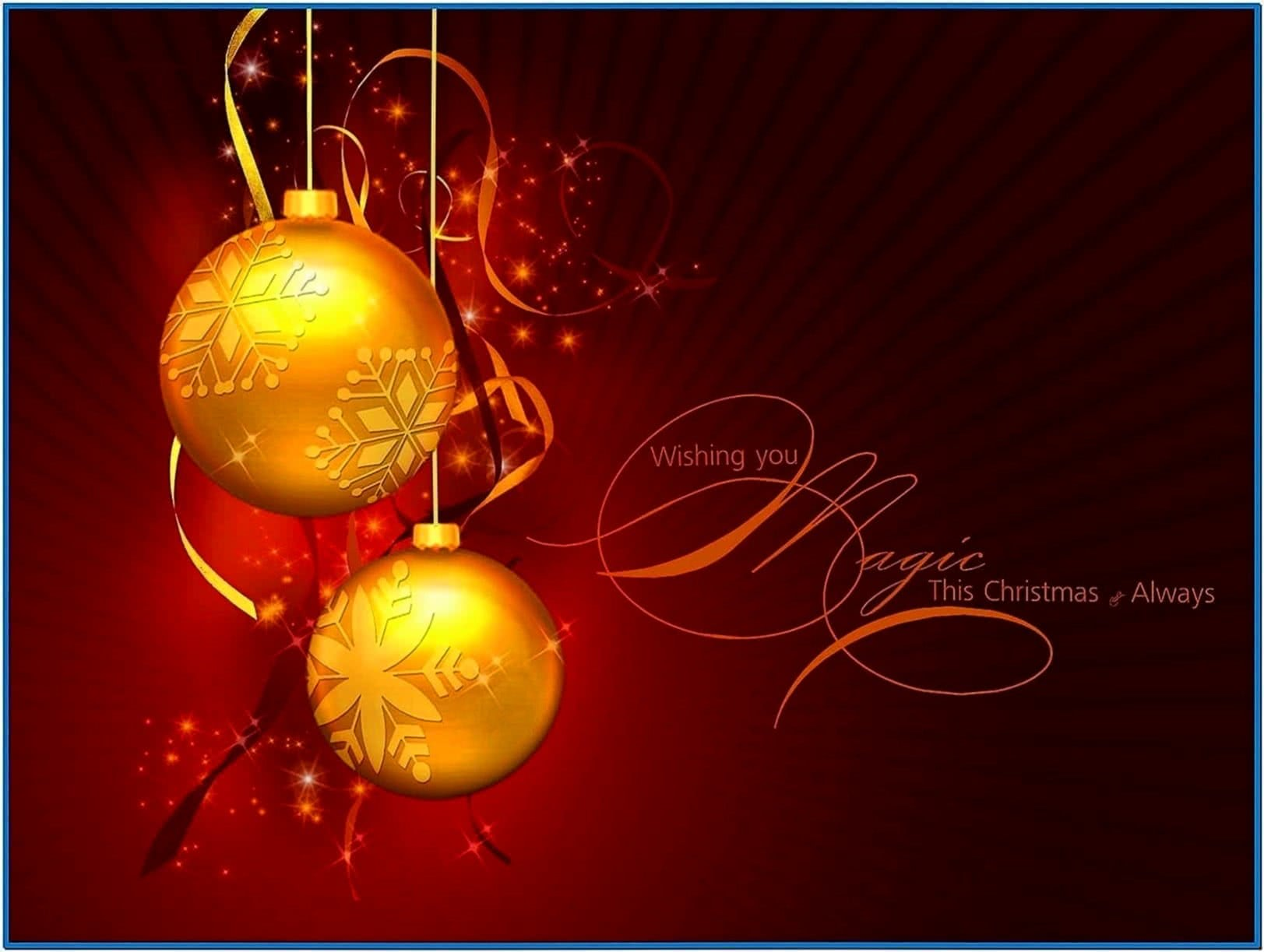 Screensavers Christmas Desktop Wallpaper