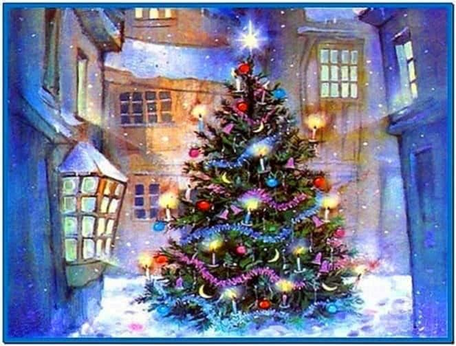 Screensavers christmas holiday