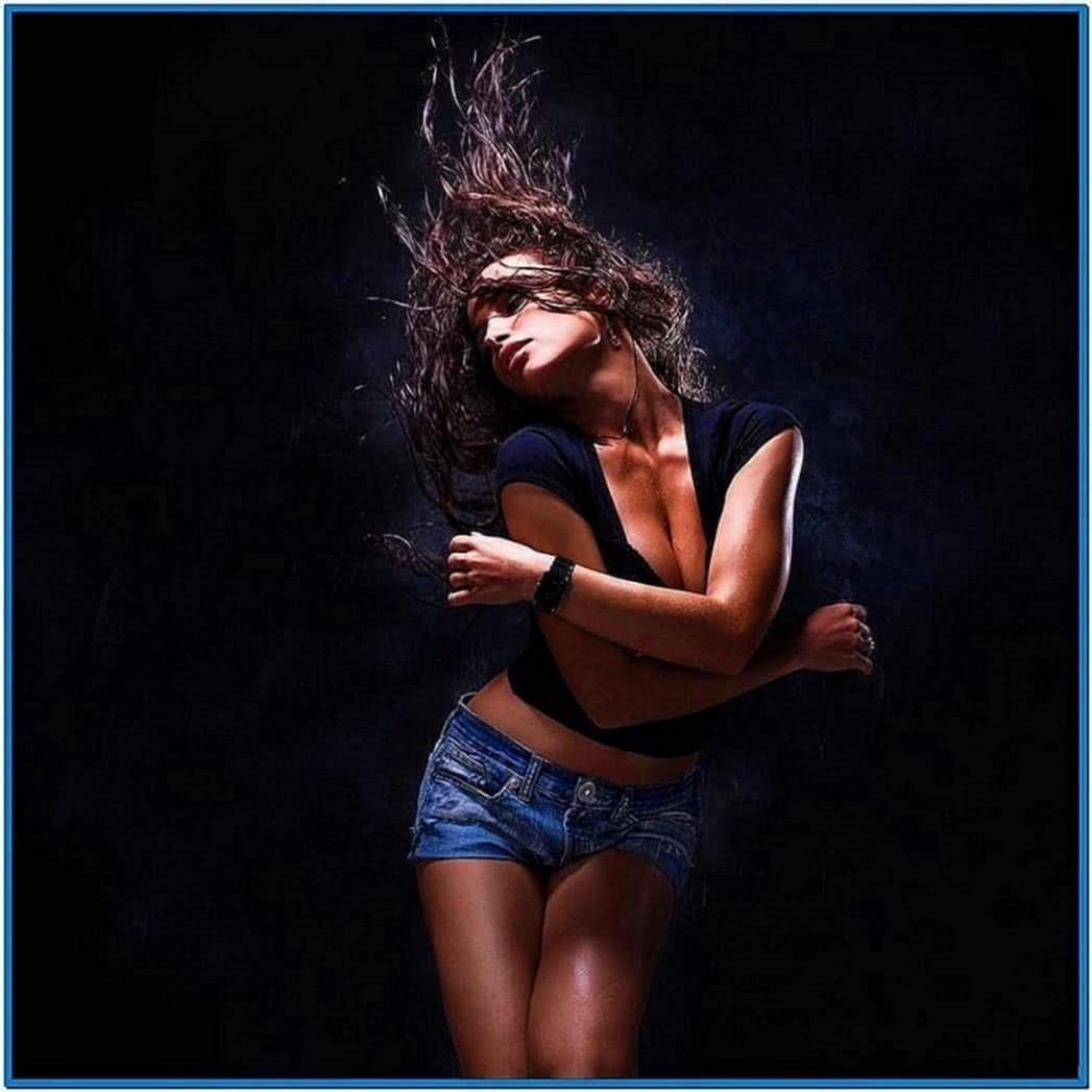 screensavers dancing girl download free