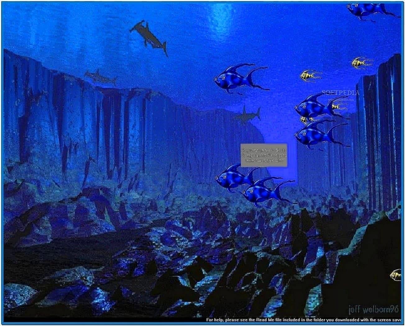 Screensavers Fish Swimming