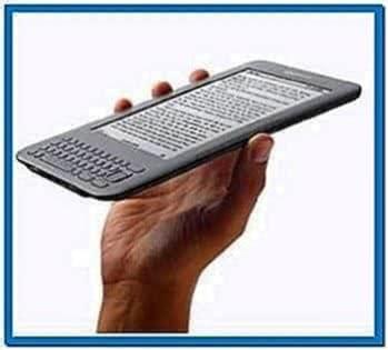 Screensavers for Kindle 3G