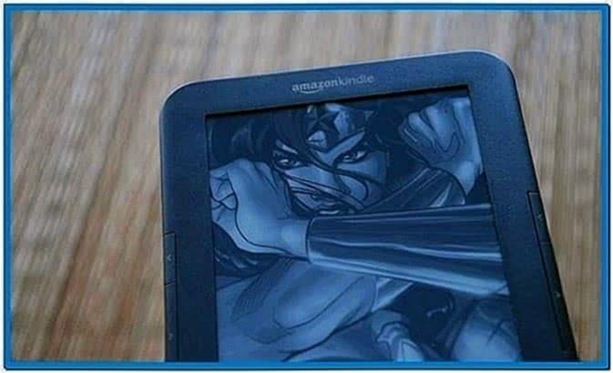Screensavers Kindle Hack