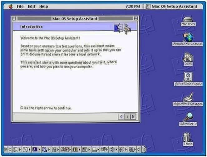 Screensavers Mac os 9