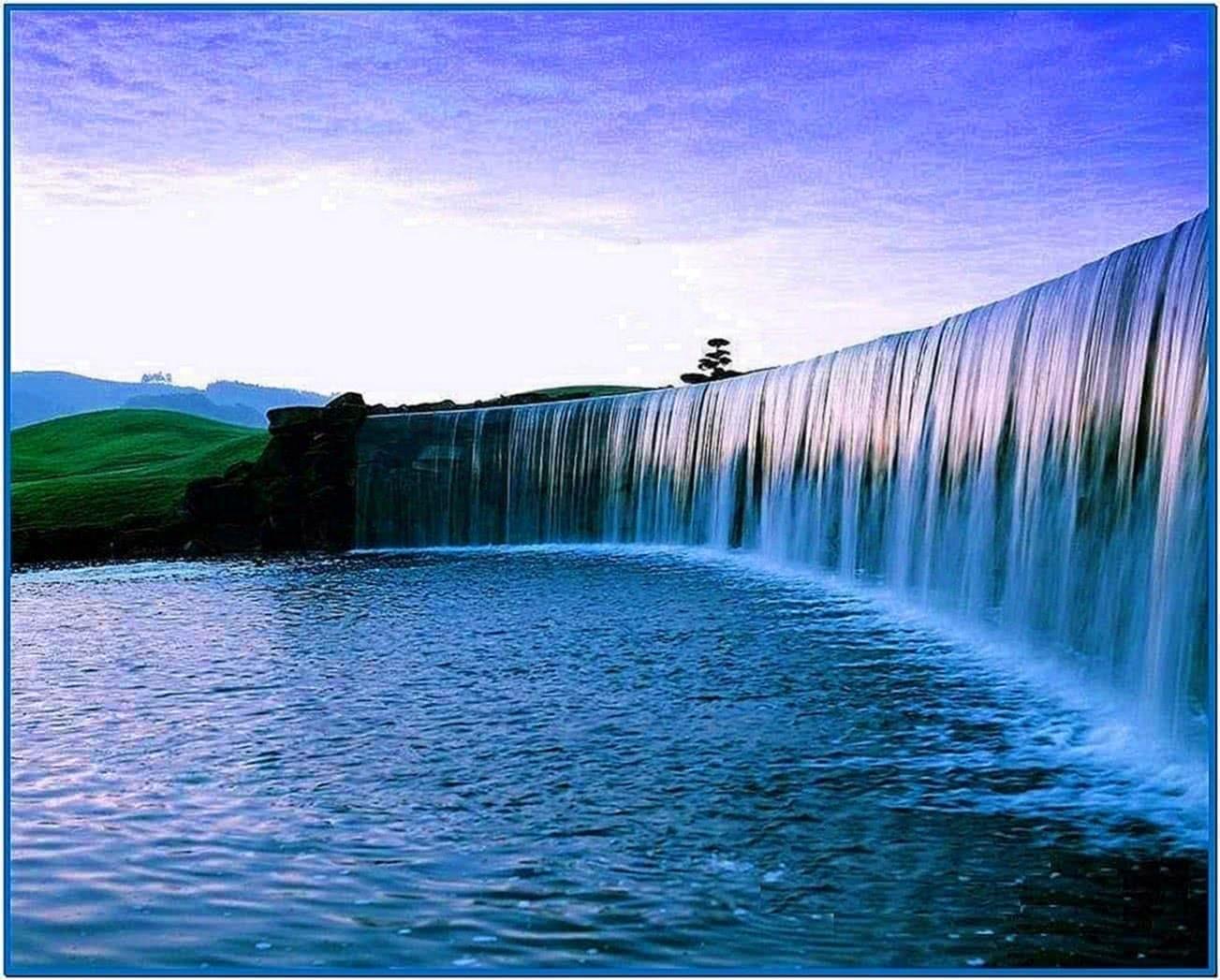 Screensavers Nature Waterfalls