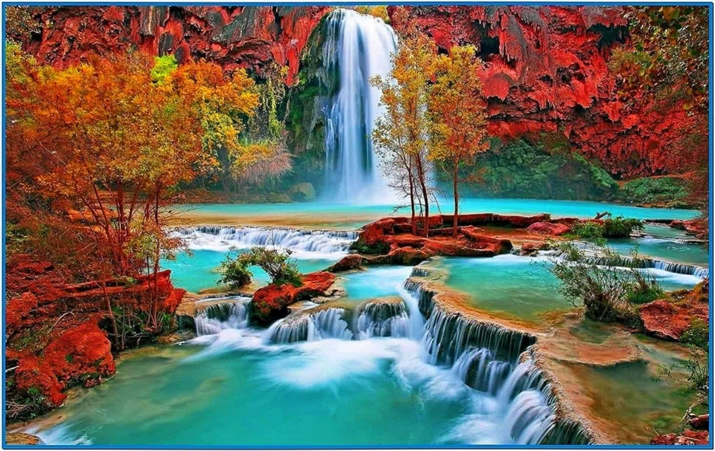 Screensavers Nature Waterfalls