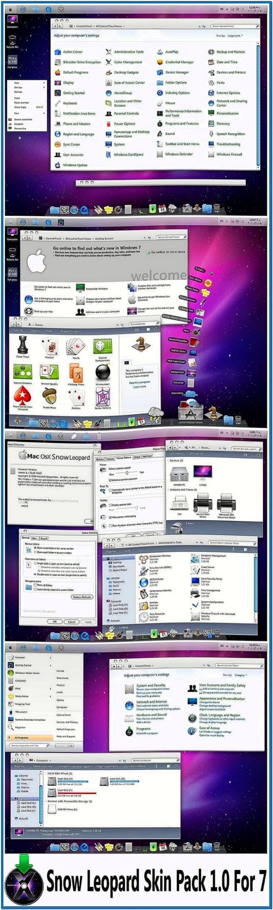 Screensavers pack x86 64bit