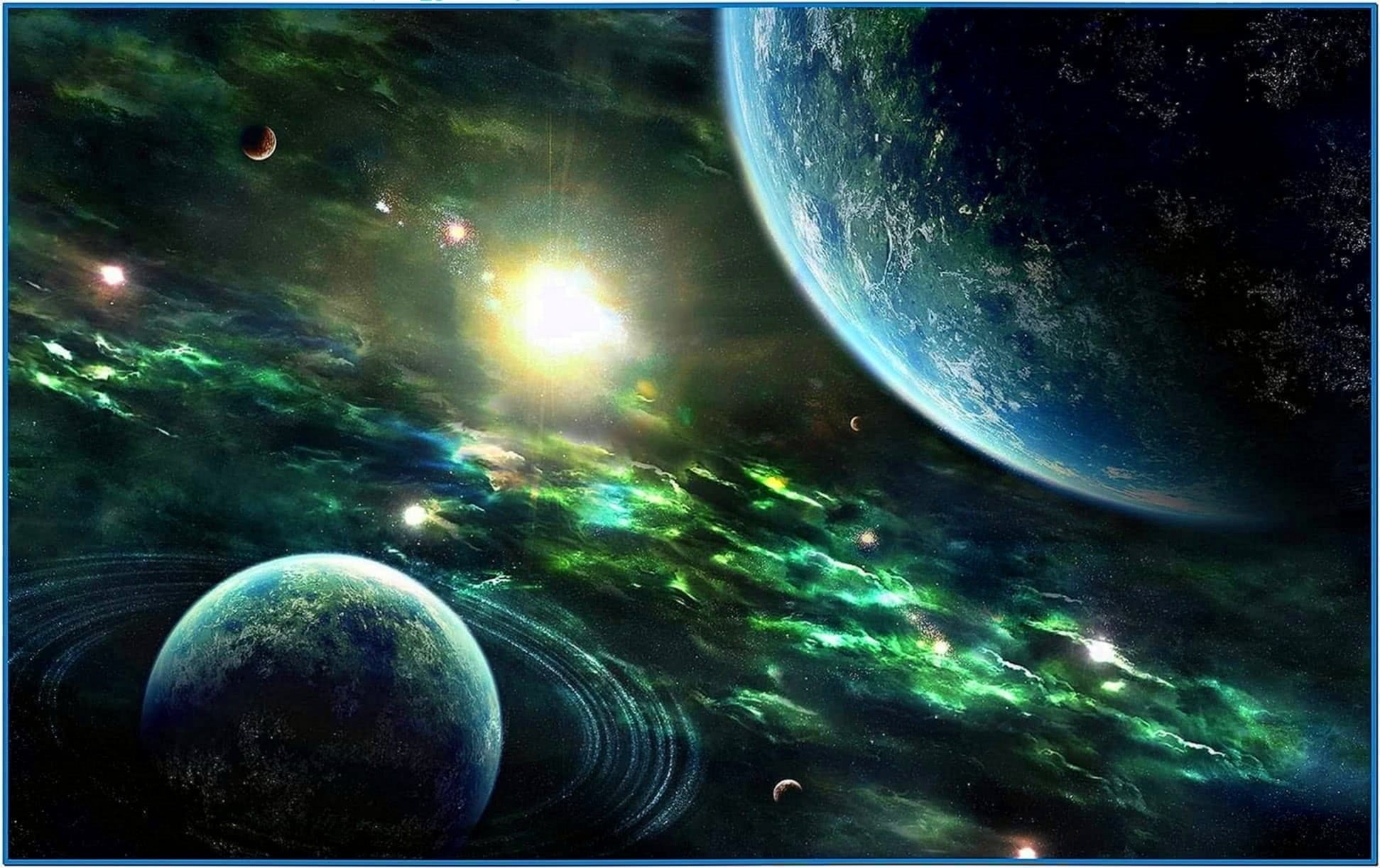 Screensavers PC Space Planets