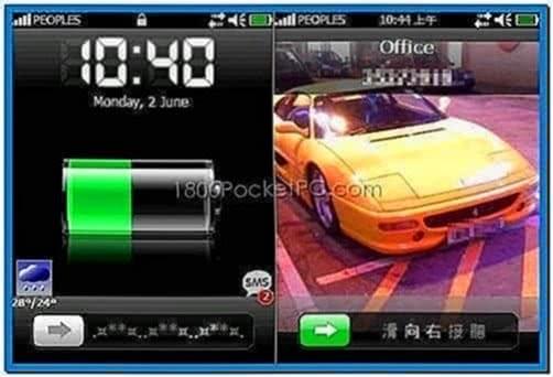 Screensavers Windows Mobile