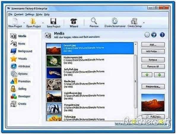 Screensavers Windows Mobile 6.1